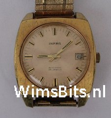 watch infra automatic fb 25 jewels front